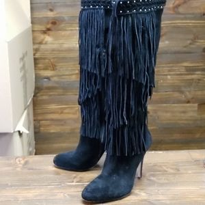 INC International Concepts Suede Boots Size 7